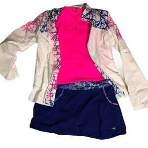 NWT Diadora 3 piece activewear tennis skirt outfit